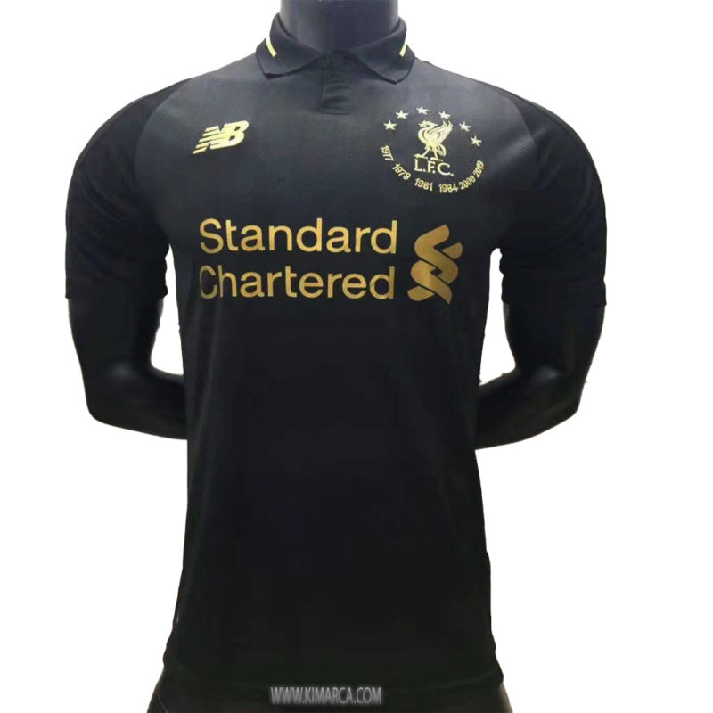 Camisa Oficial Do Liverpool Vermelha 2020 Kimarca